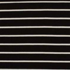 Tissus jersey - Rayures noires et blanches - Rascol Cheer Skirts, Black Stripes, Sewing, Black White