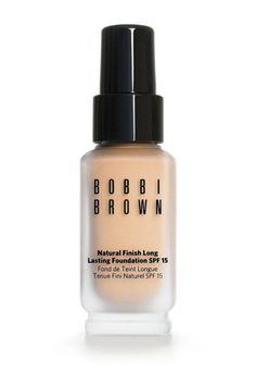 Bobbi Brown Natural Finish Long Lasting Foundation. Shop it and the 13 other best oil-free foundations that will stay put no matter how oily your skin is.
