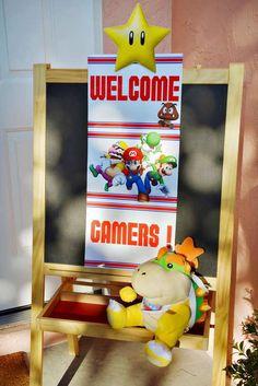 Sweet Memories Party D's Birthday / Super Mario Bros - Photo Gallery at Catch My Party Super Mario Birthday, Mario Birthday Party, Super Mario Party, Birthday Parties, 7th Birthday, Party Party, Birthday Ideas, Mario Bros Y Luigi, Mario Bros.