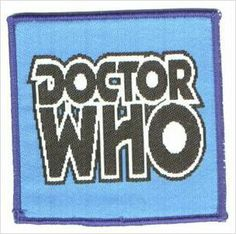 Dr Doctor Who Sew-on Patch - Doctor Who - Large - New on eBid United Kingdom
