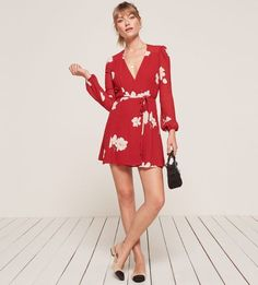 Collins Dress from Reformation - French street style affiliate