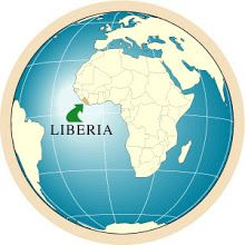 #1 Liberia is located in the southern part of West Africa lying on the Atlantic Ocean.