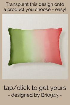 Soft Pillows, Accent Pillows, Bed Pillows, Artwork Design, Color Themes, Soft Fabrics, Envy, Your Design, Watermelon