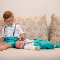 Two funky boys in elegant christening suits. Christening, Special Events, Suits, Elegant, House Styles, Children, Boys, Classy, Young Children