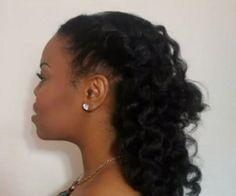 Bantu knot out | Black Women Natural Hairstyles