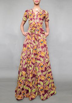 The Diana Maxi Dress – All Leaves