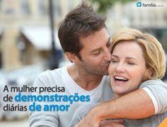 Familia.com.br | 10 coisas que você deve dizer para sua esposa. #Casamento #Esposa #Nutrir #Amor