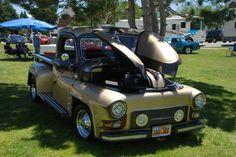 Very custom Dodge truck...