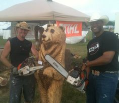 Eagle Ridge Saw Works and Cowboy Troy at the Show Me Music Fest in Springfield, MO! Show Me Music, My Music, Music Fest, Chainsaw Carvings, Troy, Special Events, Eagle, Business, The Eagles