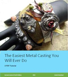 PDF Tutorial The Easiest Metal Casting You Will by anvilartifacts