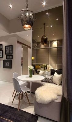 Studio Apartment Interior Design With Cute Decorating Ideas ...