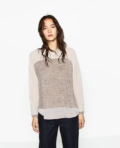 Image 2 of CONTRAST TOP from Zara