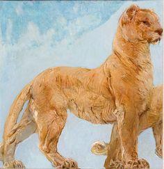 """Giulio Aristide Sartorio, """"Leonessa"""", 1924"""