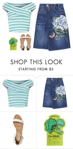 """""""Fresh Summer Blooms 💐💐💐"""" by niniko-cosmetics ❤ liked on Polyvore featuring Miss Selfridge, Dolce&Gabbana and TONYMOLY"""