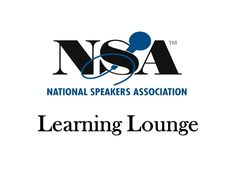 """2012 National Speakers Association """"Learning Lounge"""""""