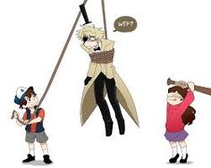 Image result for gravity falls human bill cipher