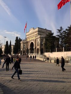 The first University in Istanbul