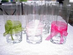 Table Decorations - Vases