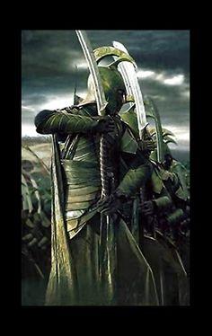 High Elven Warrior Sword & Armour