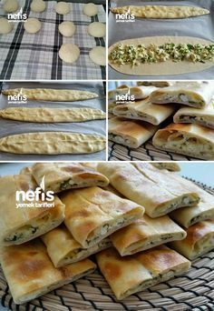 Yumuşak Peynirli Pide – Nefis Yemek Tarifleri How to make Soft Cheese Pita Recipe? Here is the illustrated description of the Soft Cheese Pita Recipe in the book of people and the photos of the experimenters. Yummy Recipes, Dessert Recipes, Cooking Recipes, Yummy Food, Cheese Pita Recipe, Cheese Recipes, Iftar, Bread And Pastries, Middle Eastern Recipes