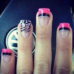 Simple Nail Art Designs for Short Nails (10)