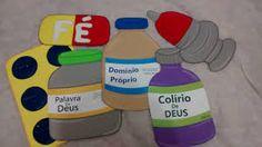 Resultado de imagem para temas biblicos para crianças em eva