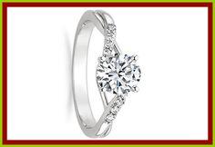 The White Gold Diamond Wedding Ring