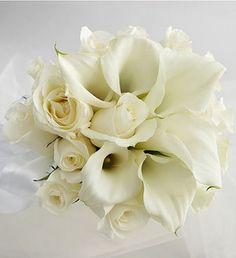 Google Image Result for http://www.flowerpicturegallery.com/d/8599-1/White%2BRose%2B_amp_%2BMini%2BCalla%2BLily%2BBride_s%2BBouquet%2Bphoto.jpg