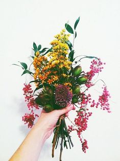 bouquet of wild flow