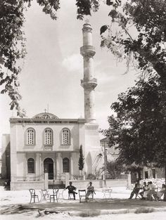 Splantzia square, Chania, 1949