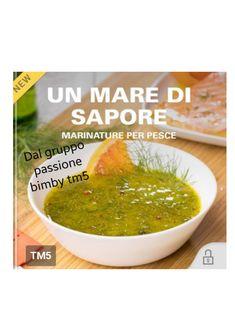 COLLECTION UN MARE DI SAPORE MARINATURE PER PESCE.pdf - Google Drive Google Drive, Ethnic Recipes, Food, Thermomix, Essen, Meals, Yemek, Eten