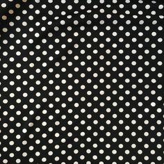 Ponte Roma Jersey Black and White Spot