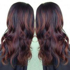 Dark brown hair color ideas #dark #brown #hair #colors