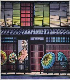"[ ""Gion Kyoto Umbrella"" by Clifton Karhu ]"