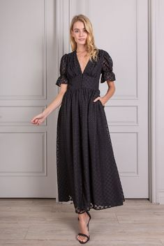 Valentine Button Down Short Sleeve Maxi Dress Long Sleeve Midi Dress, Maxi Dress With Sleeves, Southern Belle Style, Ariel Dress, Halter Maxi Dresses, Clothes For Women, Button, Essentials, Makeup