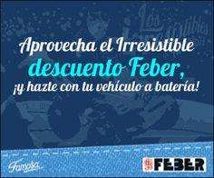 """Feber te descuenta un 20% en la compra de sus juguetes """"Vehículos de batería"""".  Promoción válida para España hasta el 30/11/2013.  Más información aquí: http://www.baratuni.es/2013/11/cupones-descuento-feber-noviembre-2013.html  #cupones #descuentos #descuento #cuponesdescuento #baratuni #feber #juguetes"""