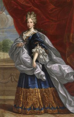 Portrait of Elisabeth Farnese (1692-1766), the later queen consort of Spain as…
