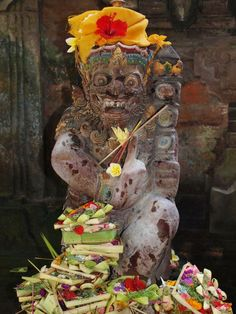 Balinese God - Ubud, Bali