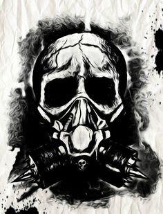 gas mask creepy - Google Search Gas Masks Tattoo Jjc Graphics Masks ...