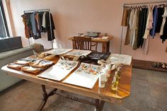 Myrtle, a new boutique in Echo Park.  Myrtle features independent (and many of my favorite) women designers...Scout and Catalogue, Dusen Dusen, Fieldguided, MCMC fragrances, Rifle and more!