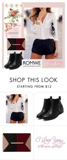 """Romwe 9"" by aida-1999 ❤ liked on Polyvore featuring Dune and WALL"
