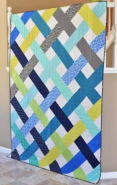 Whew. Guys, writing patterns is no joke. I have been wanting to write up a pattern for this design since I made this quilt a few months ago but I knew that I needed to change how the quilt was constru