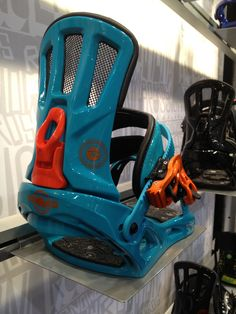 Rossignol binding design from SIA tradeshow.