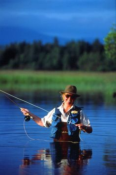 ...find the best fly fishing spot.