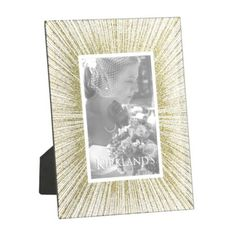 Glitter Gold Sunburst Picture Frame, 4x6 | Kirklands
