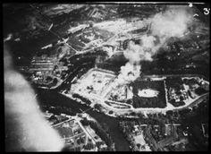 Die brennende Festung Iwangorod