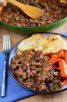 Slimming Slimming Eats Mustard Beef and Mushrooms - gluten free, dairy free, paleo, Slimming World (SP) and Weight Watchers friendly Slimming World Dinners, Slimming World Recipes Syn Free, Slimming Eats, Slimming World Minced Beef Recipes, Atkins, Syn Free Food, Beef With Mushroom, Paleo Recipes, Cooking Recipes