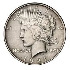 The Peace Dollar: See How Peace Dollar Values Have Changed Over 15 Years The Peace dollar, designed by Anthony De Francisci, symbolized hope for the future after World War I. Photo courtesy of Heritage Numismatic Auctions Rare Coins Worth Money, Valuable Coins, Silver Dollar Coin, Gold And Silver Coins, Silver Dollar Value, Foreign Coins, Peace Dollar, Coin Worth, Coin Values