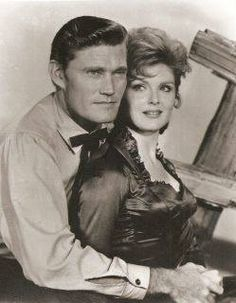 Chuck Connors and Patricia Blair