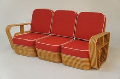1950's Bamboo Lounge...my covered deck is calling for this.